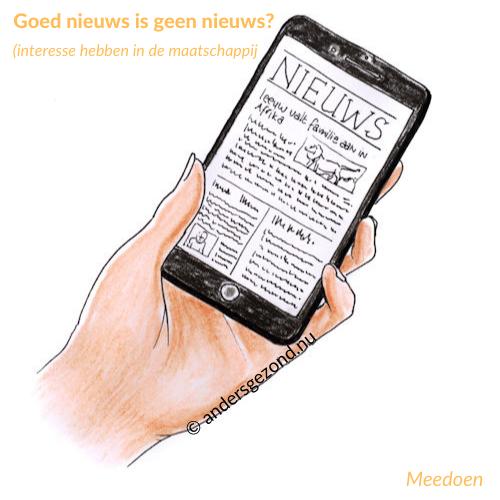 Goed nieuws is geen nieuws